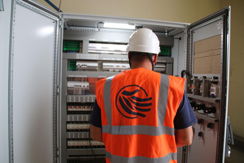 Station de reprise : changement des armoires électriques - Alexandre DUVAUX - Régie du SDDEA