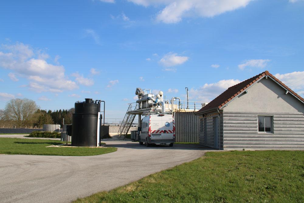 Station d'épuration de Lusigny-sur-Barse