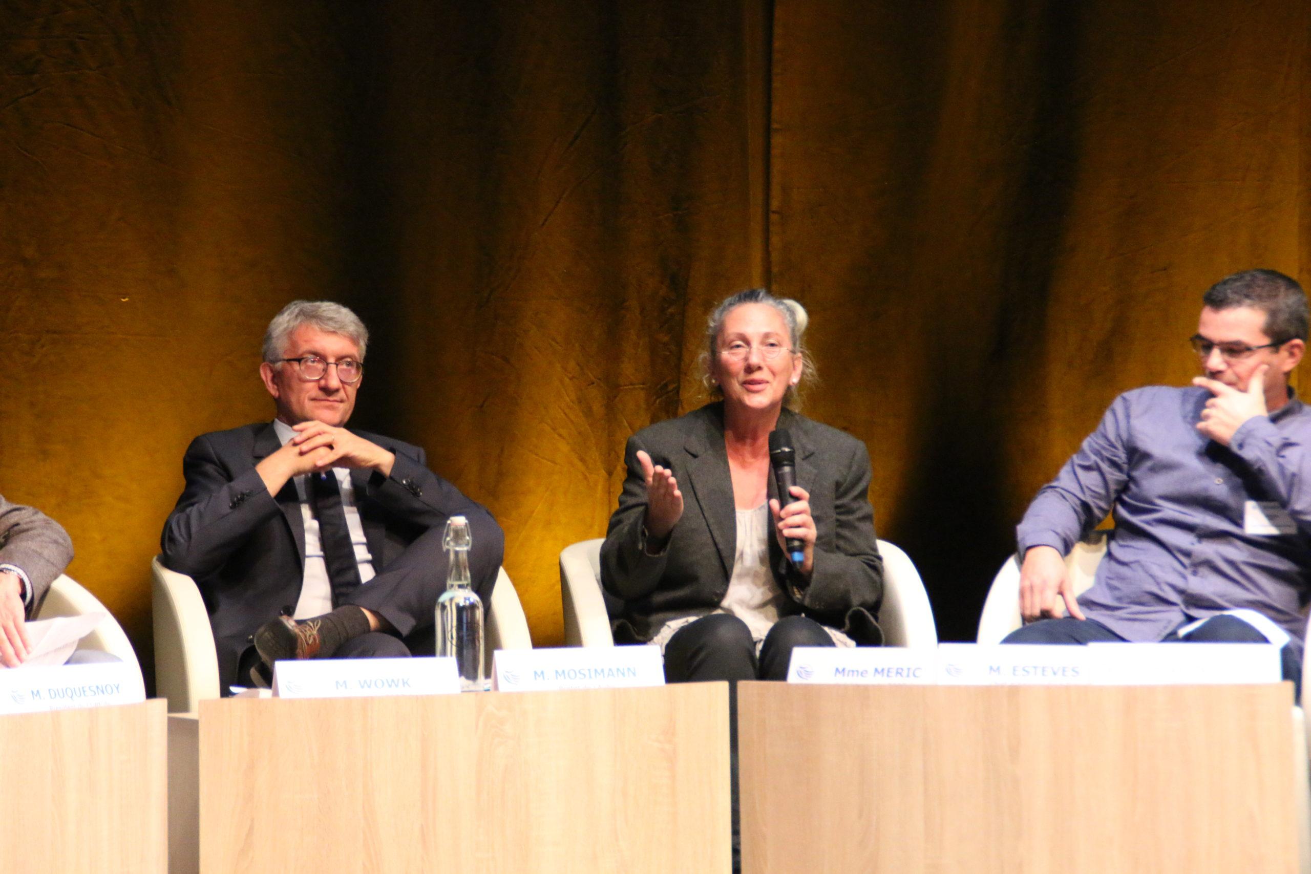 Intervention de Solange MERIC, Présidente du COPE de Fontettes Verpillieres-sur-Ource