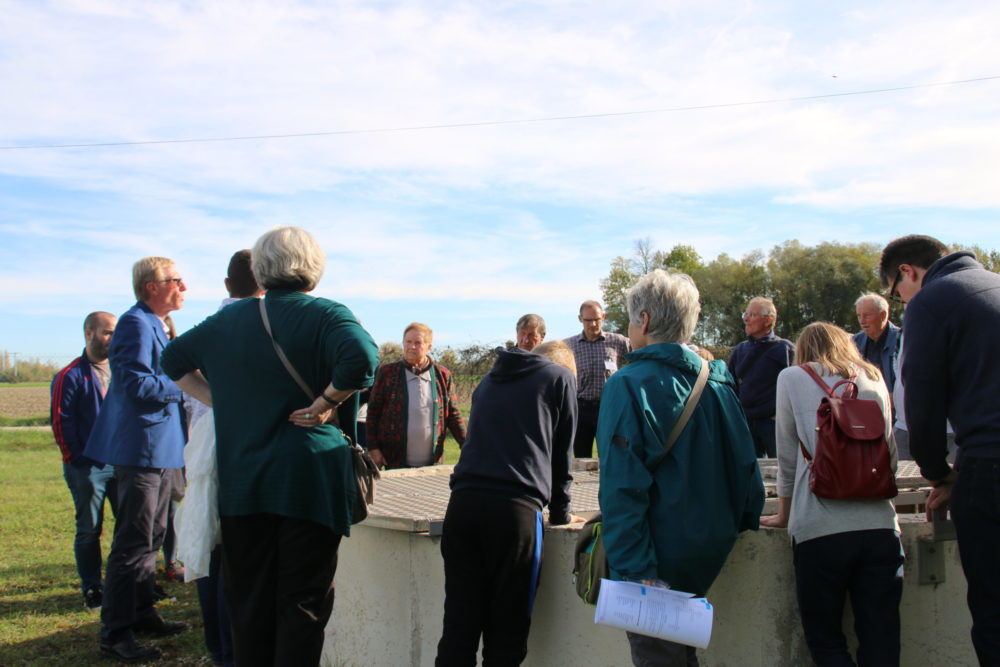 Première visite organisée - Présentation réalisée par Frédéric Poirier, Président du COPE