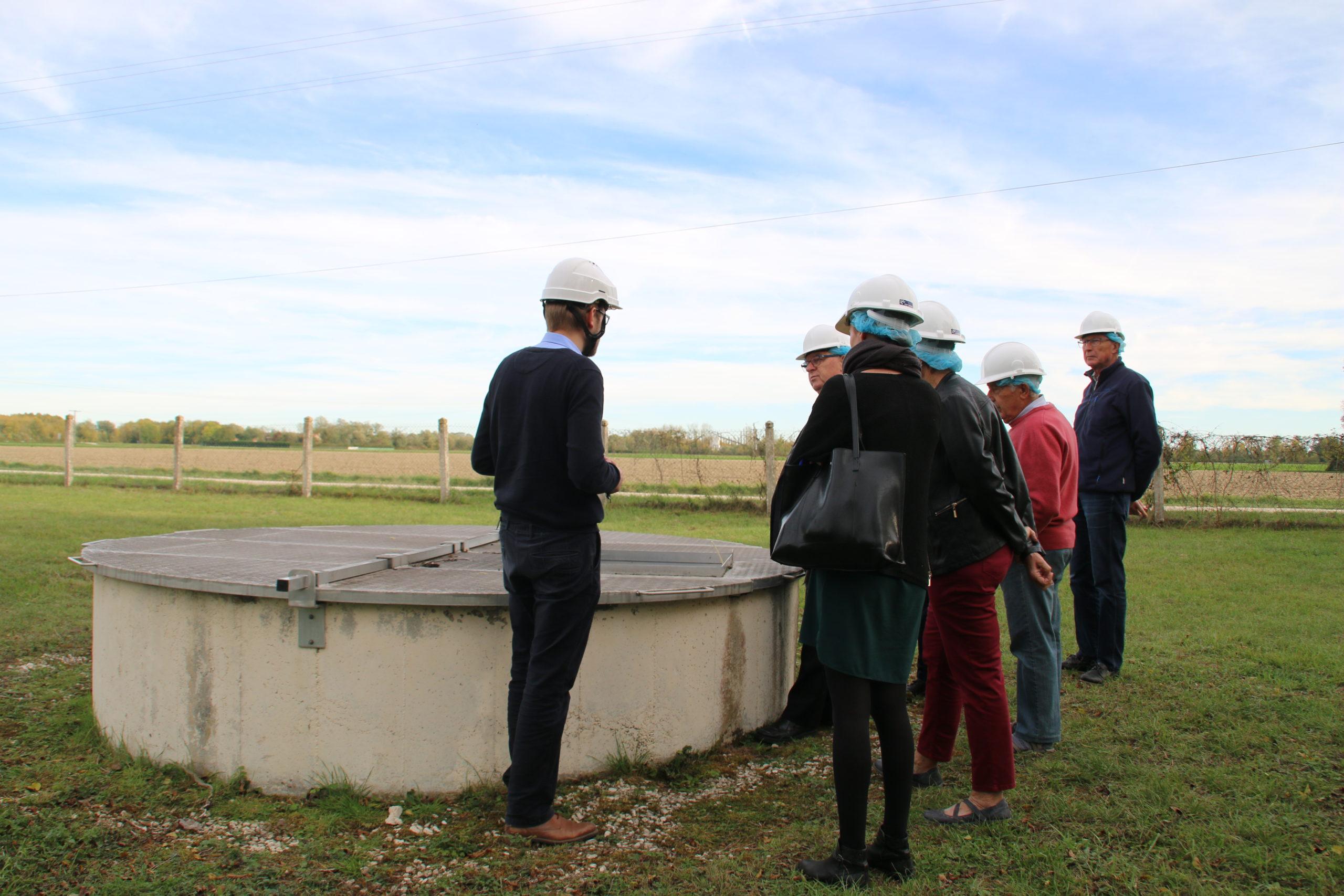 Seconde visite organisée l'après-midi animée par Charles Querleux