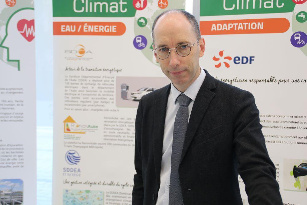 Stéphane Gillis, Directeur Général de la Régie du SDDEA